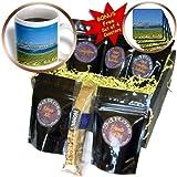 cgb_96637_1 Danita Delimont - Farms - Washington, Walla Walla. Farm wind turbines - US48 RDU0188 - Richard Duval - Coffee Gift Baskets - Coffee Gift Basket