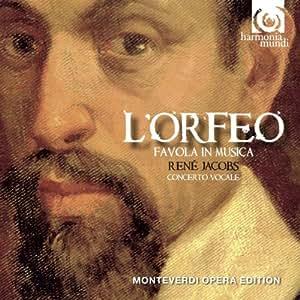 Monteverdi: L'Orfeo (Concerto Vocale/Rene Jacobs)