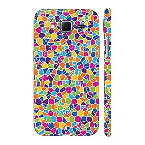 Enthopia Designer Hardshell Case Barcelona's Pattern Back Cover for Samsung Galaxy Core Prime