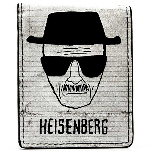 AMC Breaking Bad Walter White Heisenberg bianco portafoglio