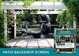 designer patio gazebo backdrop screen