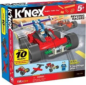 K'NEX Revving Racers 10 Model Set