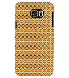 SAMSUNG GALAXY NOTE 5 SQUARE PATTERN Designer Back Cover Case By PRINTSWAG