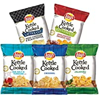 30-Count Lay's Kettle Chips Variety Pack (1.375 oz Bags)