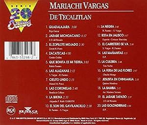 Mariachi Vargas de Tecalitlan: Serie 20 Exitos