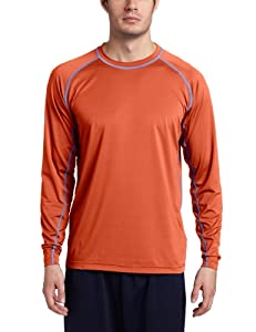 Exofficio Men's Sol Cool Crew Long Sleeve, Koi, Large