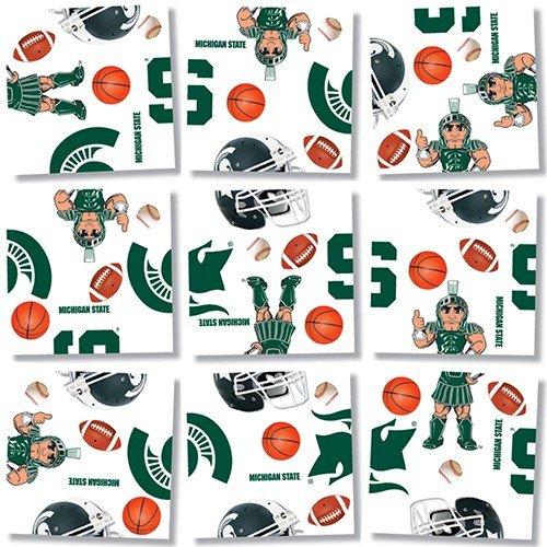 b. dazzle Michigan State Spartans Scramble Squares Puzzle - 1