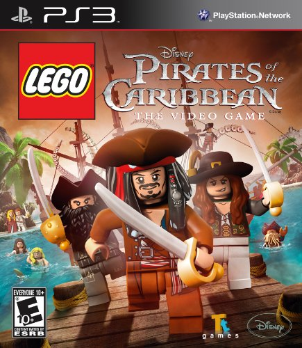 Lego Pirates Of The Caribbean - Playstation 3 front-998254