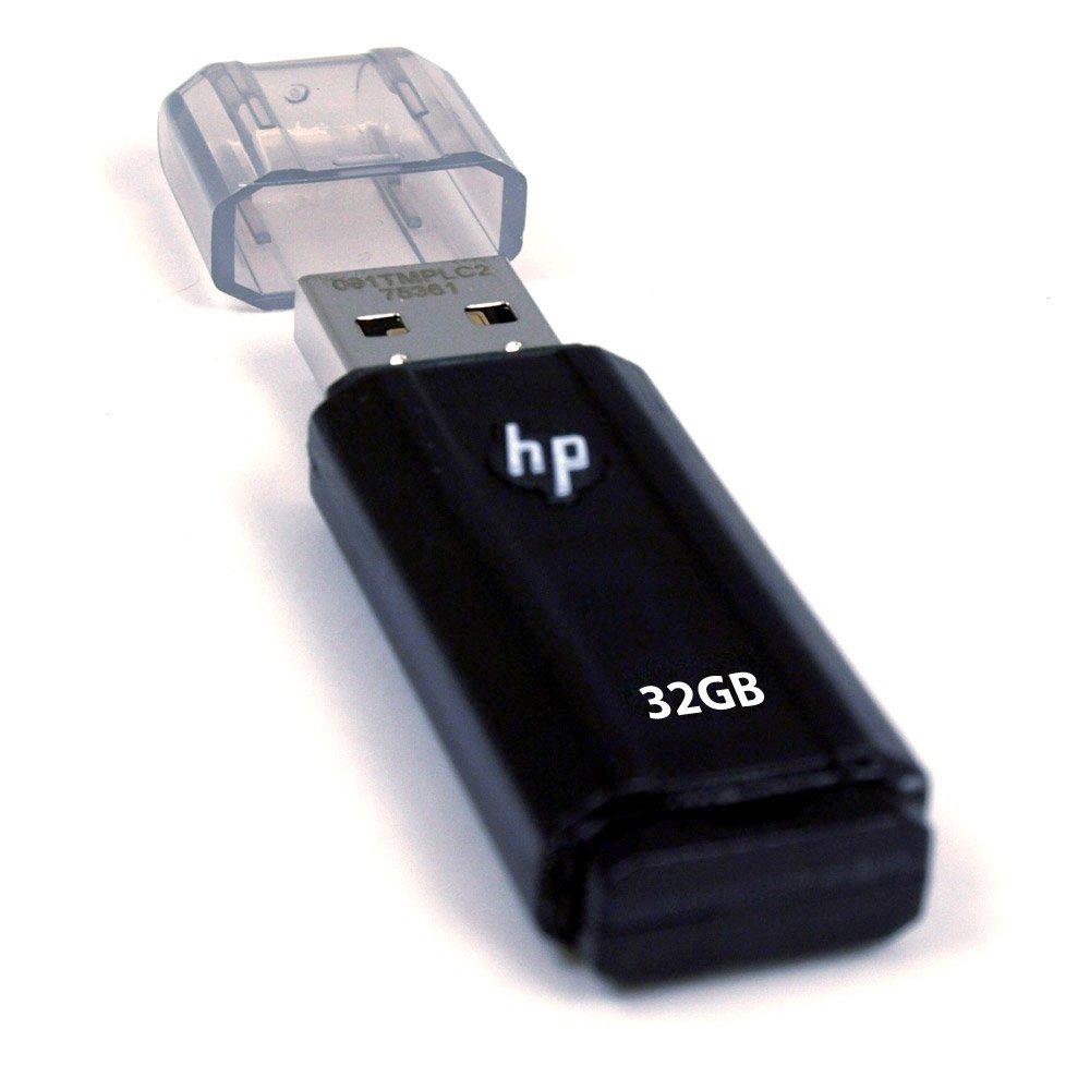 (史低)HP惠普v125w 32 GB USB 2.0 优盘$17.99