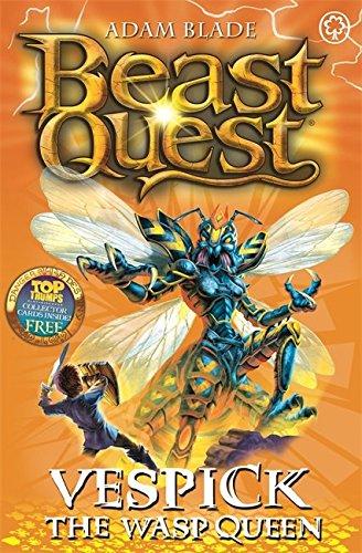 36: Vespick the Wasp Queen (Beast Quest)
