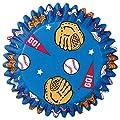 Wilton Baseball Baking Cups