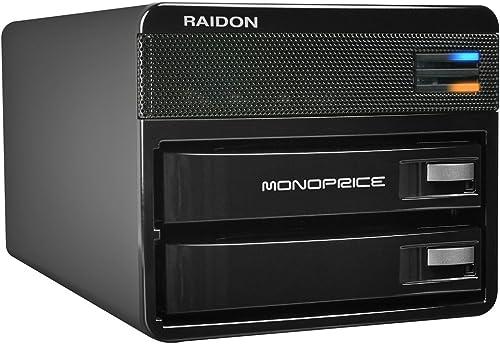 Monoprice 2-Bay USB RAID Enclosure