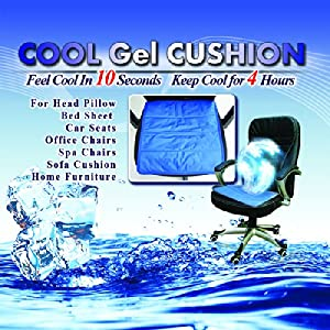 Cooling Gel Cushion Ice Cool Gel Pad for Car Seat Home Office