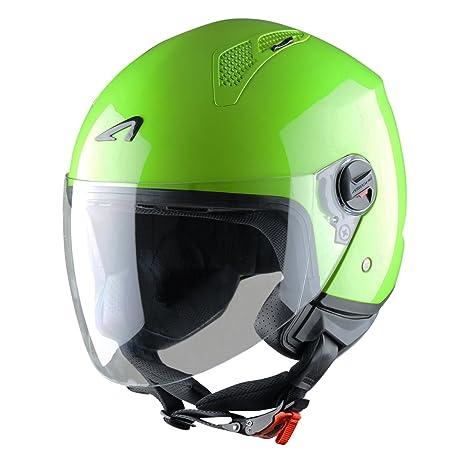 Astone Helmets MINIM-APPLES Casque Jet Mini Jet Apple Taille S