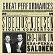 Sibelius - Nielsen : Concertos pour violon