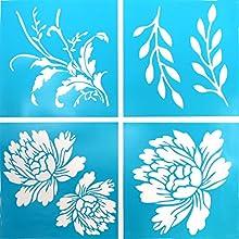 Plaid Martha Stewart Vintage Decor Blossom Stencil