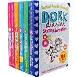 Rachel Renee Russell Rachel Renee Russell Dork Diaries 6 Books Collection Pack Set RRP: £23.97 How to Dork Your Diary, Dork Diaries, Party Time, Pop Star, Skating Sensation, Dear Dork)