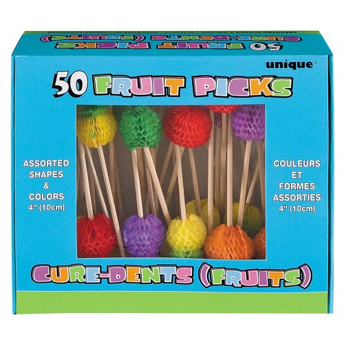 Tropical Fruit Toothpicks, 50ct 4
