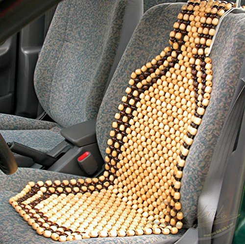 Zento Deals Wood Beaded Comfort Seat Cushion (Wood Seat Cover compare prices)