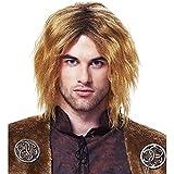 Medieval King Honey Blonde Wig