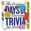 Original 365 Amazing Trivia Facts Calendar 2013, The (Page a Day Calendar)