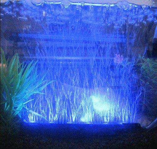 Amzdeal 12 inch blue led light underwater led aquarium for Blue light for fish tank