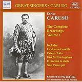 Caruso - Complete Recordings, Vol.1