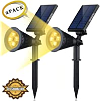 2-Pack Siensync Outdoor LED Spotlight