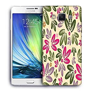 Snoogg seamless floral pattern abstract background Designer Protective Back Case Cover For Samsung Galaxy ON5