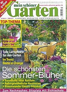 mein sch ner garten zeitschriften. Black Bedroom Furniture Sets. Home Design Ideas