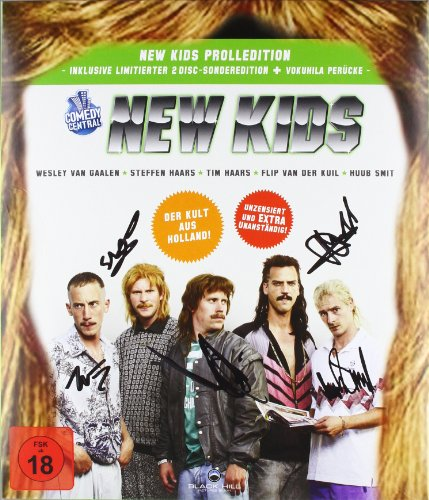 New Kids - Prolledition (Limitierte 2 Disc Sonderedition mit New Kids Unterschriften und Vokuhila-Perücke, exklusiv bei Amazon.de)