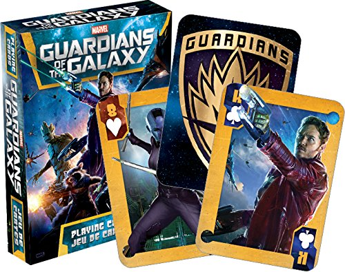 Marvel Guardians Playing Cards