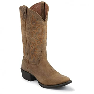 "Men's Fashionable Justin Boots 13"" Stampede Boot Sale Online Multiple Color Options"