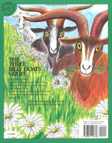 The Three Billy Goats Gruff (Paul Galdone Classics)