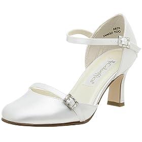 Coloriffics bridal shoes