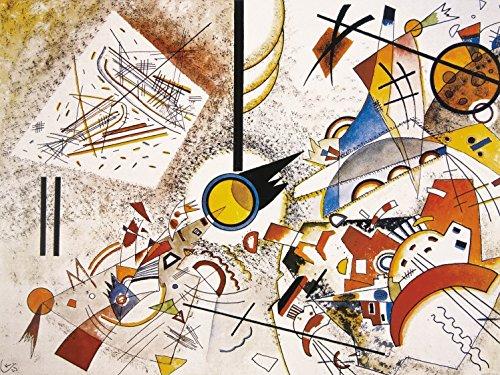 Wassily Kandinsky - Senza Titolo, 1923, 2 Parti Poster Carta Da Parati Fotomurale (240 x 180cm)