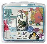 echange, troc Mad Catz Official FABric Animals Animals Mouse & Mat (PC) [import anglais]