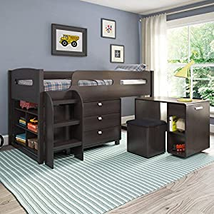 Madison 5 Piece All-in-One Loft Bed