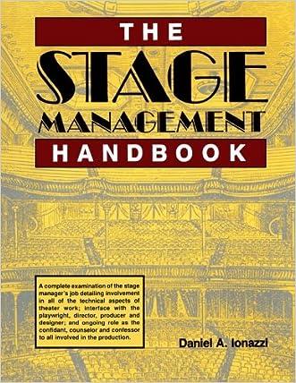 The Stage Management Handbook written by Daniel Ionazzi