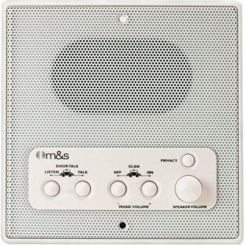 M & S Systems DMC3RW Retrofit Weather Resistant Remote Patio Station Speaker