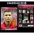 Cristiano Ronaldo Calendrier 2015 + cristiano ronaldo aimant de r�frig�rateur