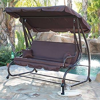 Bellezza Porch Swing Outdoor Bed Hammock