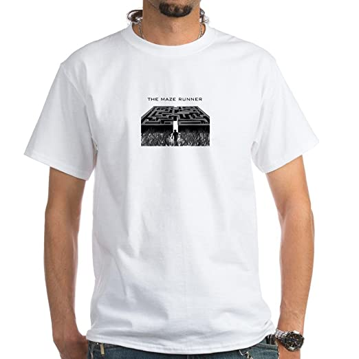 CafePress The Maze Runner - Maze T-Shirt White T-Shirt - L White