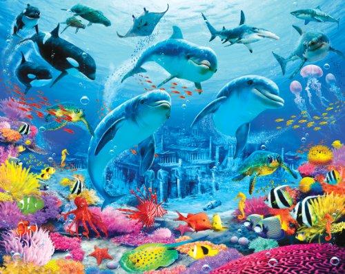 Walltastic Sea Adventure Wallpaper Mural 8ft x 10ft