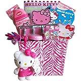 Hello Kitty Gift Basket, Ideal for Girls 3-8