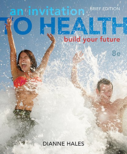 An Invitation To Health: Building Your Future, Brief Edition (With Personal Wellness Guide) front-848666