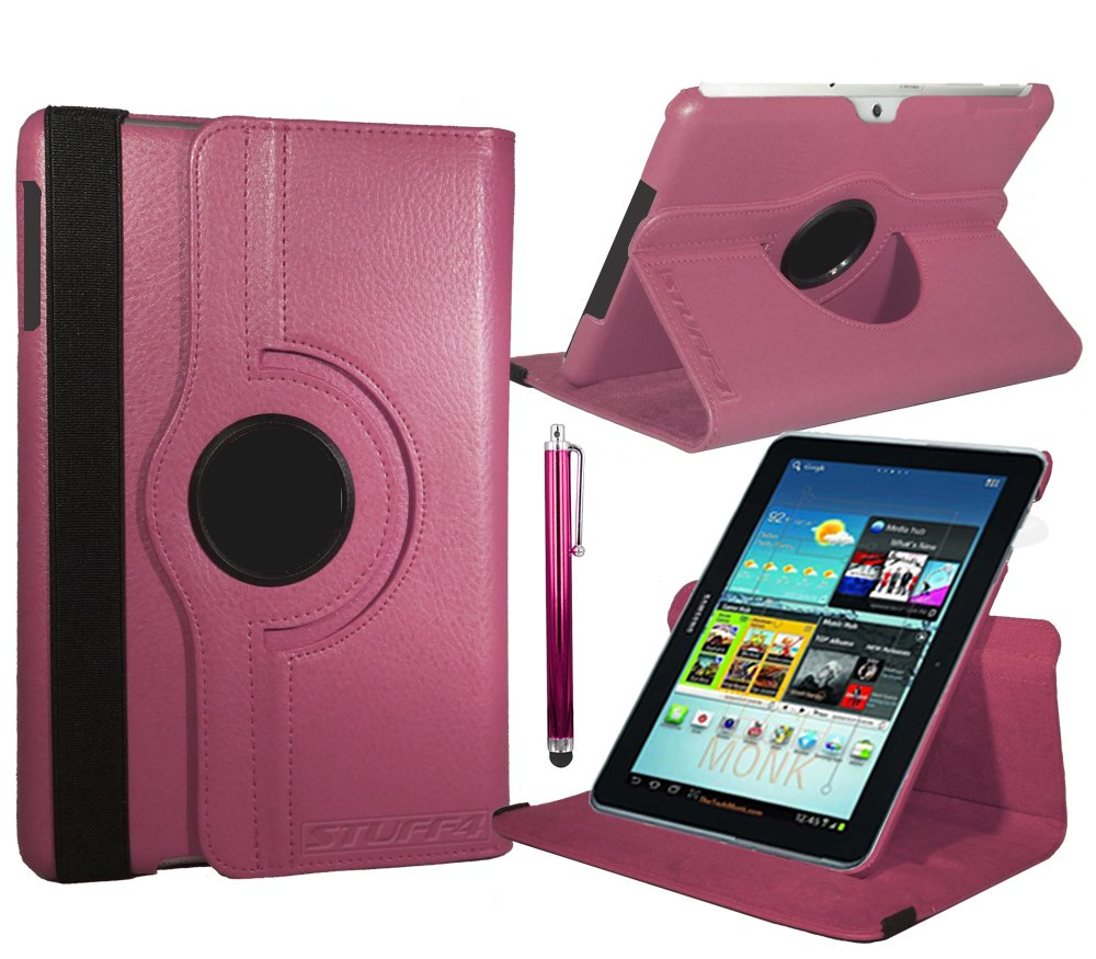 Stuff4 Stuff4 MR-GT27.0-L360 - Funda para tablet Samsung Galaxy Tab 2 7 (P3100 / P3110), rosa (rose foncé)  Informática Comentarios