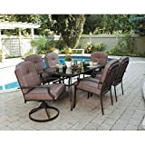 7-Piece-Patio-Dining-Set-Seats-6-Enjoy-the-Outdoors-with-This-Patio-Furniture-Dining-Set-Impress-Your-Neighbors-with-the-Design-of-This-Patio-Dining-Set-Patio-Dining-Sets-Make-the-Warm-Months-That-Muc