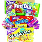 Mini American Wonka Hamper Candy/Chocolate/Nerds/Sweets Christmas/Birthday Gift - in a White Card Box