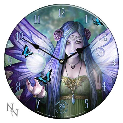 Nemesis Now-Orologio da parete, in vetro, collezione Mystic B1086D5-Aura